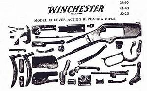 Winchester 1873  Parts Diagram