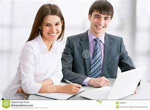 Young Business People Stock Image - Image: 32899871