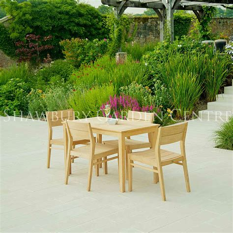 roble patio garden furniture set for four