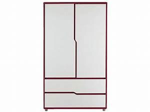 Armoire Fille Conforama : armoire moby blanc fuchsia vente de armoire enfant ~ Teatrodelosmanantiales.com Idées de Décoration