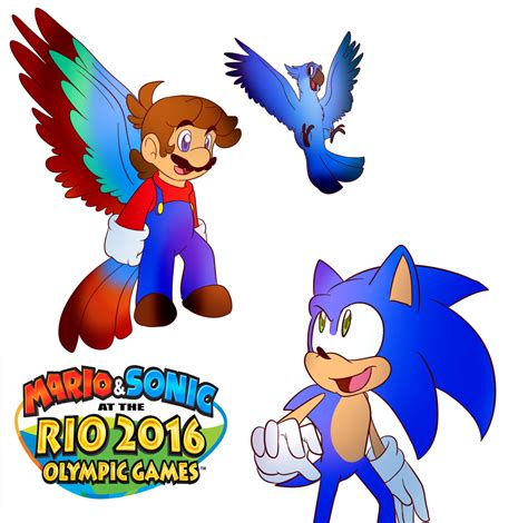 Mario And Sonic 2016 By Baconbloodfire On Deviantart