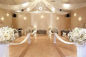 Wedding Hall Decor Committed AnniversaryWedding