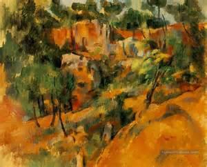 Cezanne Peintre by Corner Of Quarry Paul C 233 Zanne Peinture Tableau En Vente