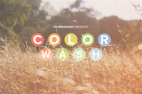 Colorwash Faded Photoshop Actions Filtergrade