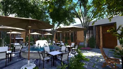 The neighborhood of soulard needs its coffee garden. Garden Cafe Design by Sonarct - YouTube