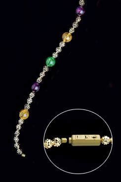 battery operated led lighted necklace