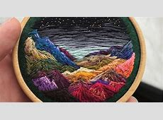 This Embroidery Artist Uses Thread Instead Of Paint To