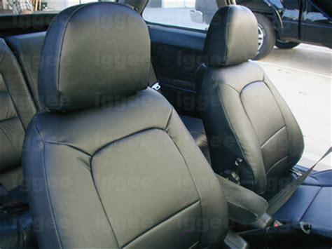 Acura Integra Seat Covers acura integra 1990 2001 iggee s leather custom fit seat