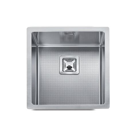 cuve evier inox sous plan mg 40 x 40 cm robinet and co evier