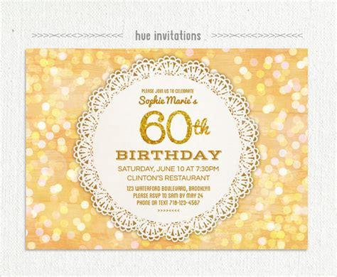 free 60th birthday invitations templates 23 60th birthday invitation templates psd ai free premium templates
