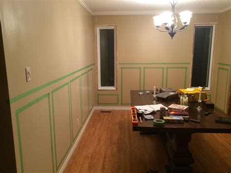 Wainscoting Height Dining Room
