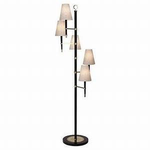 Brass pharmacy floor lamp for Clare brass floor lamp