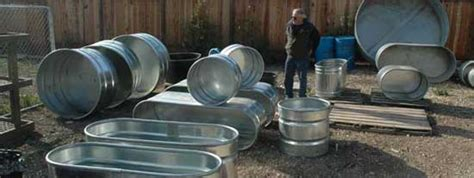 metal water tub make a solar tub in one day for 300