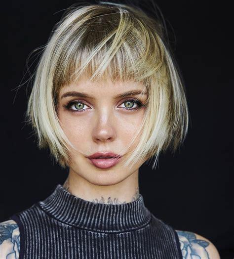 trendy messy bob hairstyles  haircuts  female