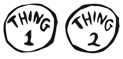 thing 1 template thing 1 and thing 2 black and white clipart