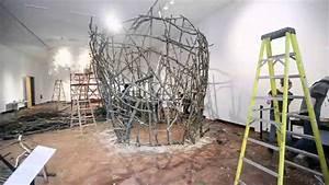 Art Installation Timelapse  John Grade Wood Sculpture