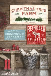 ideas  holiday signs  pinterest rustic