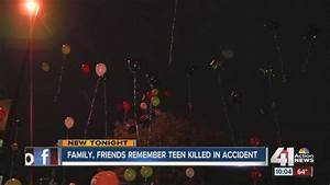 Family, friends remember teen killed in car accident - YouTube