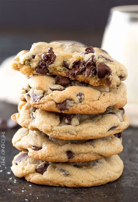salted chocolate chip cookies  chunky chef