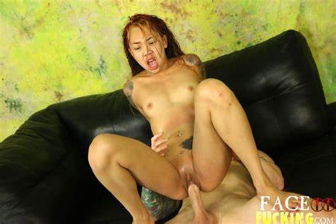Re Destroyed With Ups And Downs Korean Pervert Kimberly Chi Receives Her Romantic Tongue Filled By