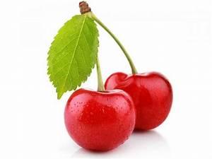 Diagram Of Cherry Fruit