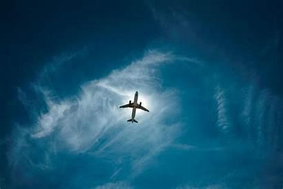 Sky Airplane Flight Clouds