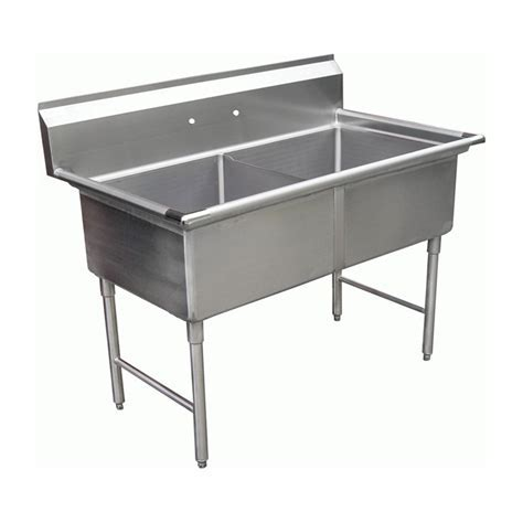Allstrong Two Tubs Stainless Steel Sink   JKS Houston