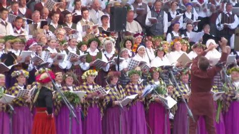 Kurzemes dziesmu svetki 2016 Kuldiga, estrade 8 Suiti ...