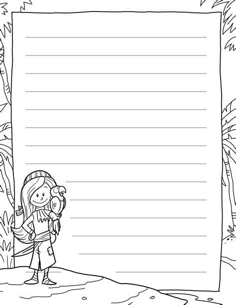 template for writing writing templates kidz activities