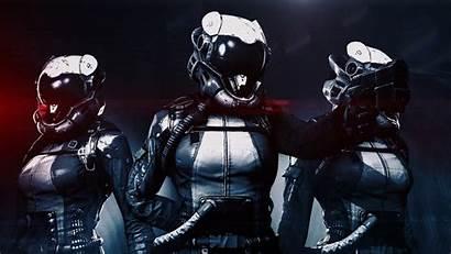 Helmets Cyborgs Desktop