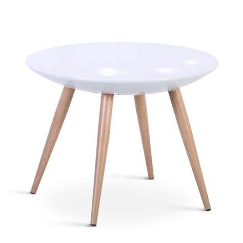 Table D Appoint Scandinave Table D Appoint Scandinave Quot Pedro Quot 60cm Blanc