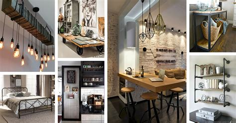 32 Industrial Style Kitchens That Will Make You Fall In Love : 36 Best Industrial Home Decor Ideas And Designs For 2018