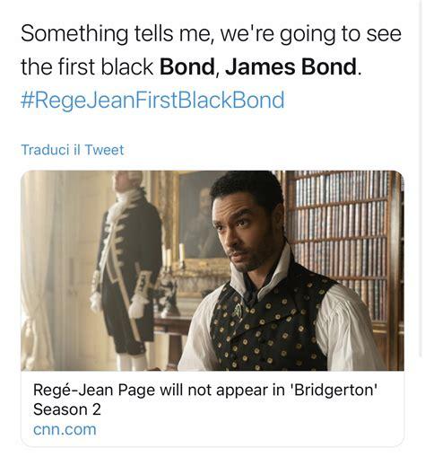 Regè-Jean Page: da Bridgerton al nuovo James Bond ...