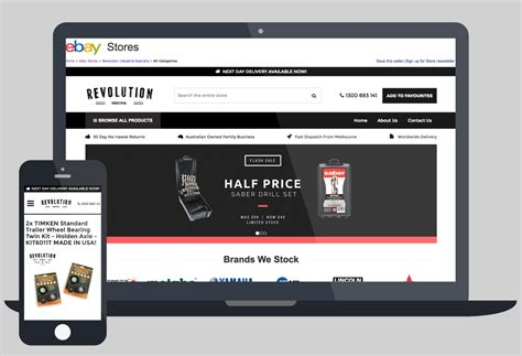 comprehensive responsive dynamic ebay listing template rainstorm studio ebay active content policy ebay 2017