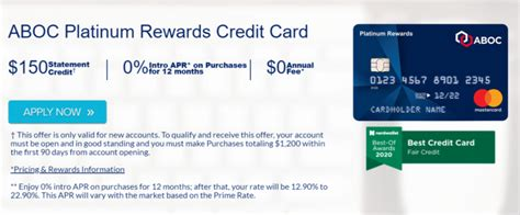 Bank accounts that can be funded with a credit card. ABOC Platinum Rewards Mastercard Review - Worth It? 2020