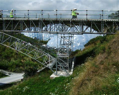 eden project footbridge cornwall