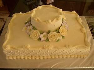Sheet Cake Wedding - CakeCentral com