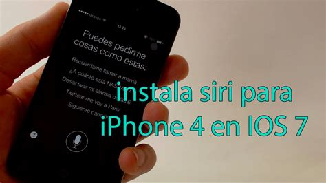 does iphone 4 siri instalar siri para iphone 4 ios 7 2014 espa 241 ol 16872