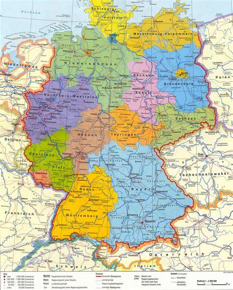 bundesrepublik deutschland landkarte  blog