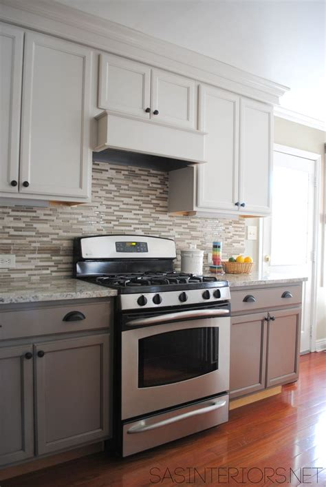 before and after kitchen makeover by jenna burger