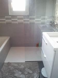Colonne De Douche Pour Baignoire : dans 4m2 seulement une baignoire 150 x 70 et une colonne ~ Edinachiropracticcenter.com Idées de Décoration