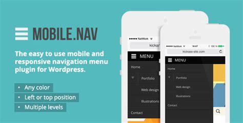 css template top bar responsive menu design