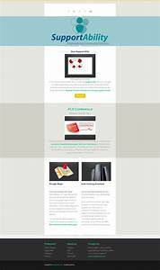design 2 mailchimp responsive email templates newsletter With great mailchimp templates