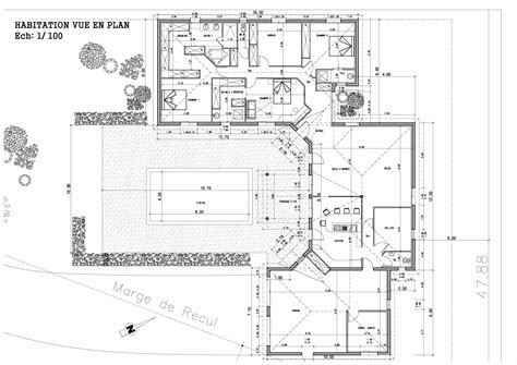 plan maison r 1 plan maison r 1 gratuit plans maisons gratuit with plan maison r 1 gratuit maison ossature