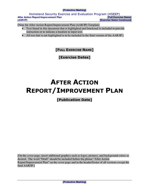 hseep templates best photos of event after report template hseep after report template aar