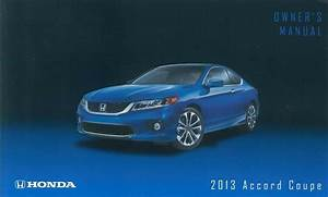 2013 Honda Accord Coupe Owners Manual User Guide Reference