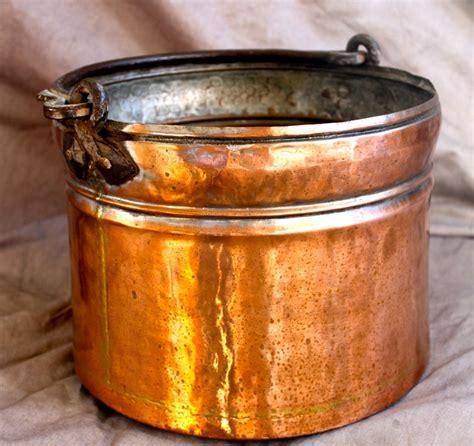 copper pots storage  planters  stdibs