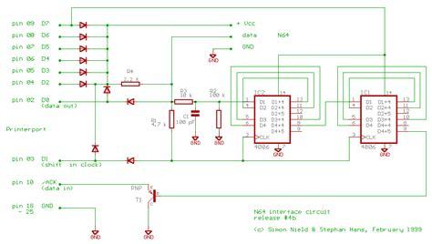 N64 Controller Wiring Diagram by N64 Controller