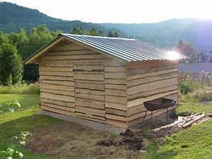Plan Abri De Jardin En Bois Gratuit : construire abri de jardin cabanes abri jardin ~ Melissatoandfro.com Idées de Décoration