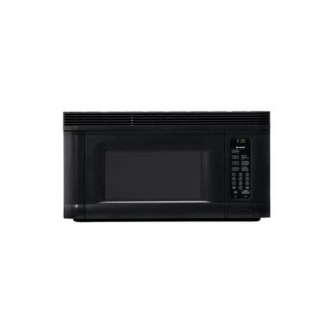 sharp r1405t 1 4 cu ft 950 watt the range microwave oven black